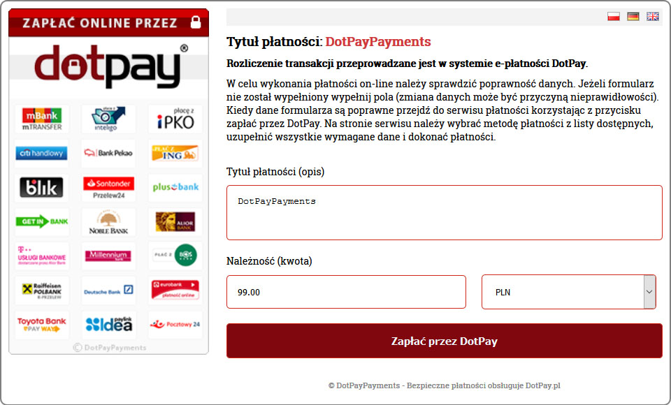 DotPayPayments